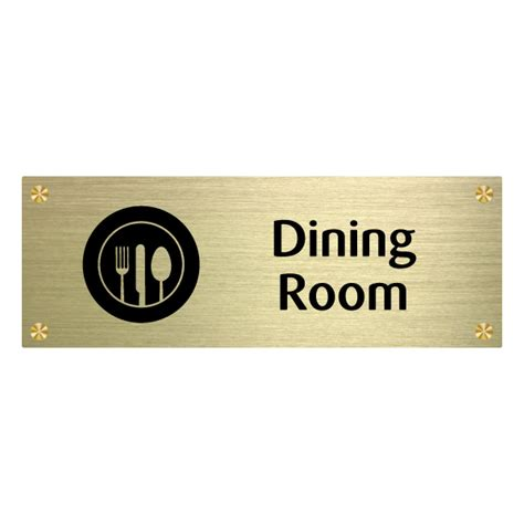 Wall Sign Room by Id020 Dining Room Wall Sign For Care Homes
