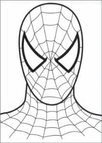 spiderman face spiderman coloring pages free printable ideas family shoppingbag