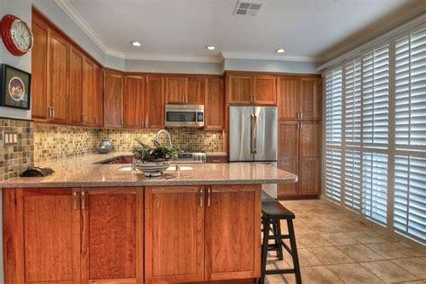 Final Kitchen renovation. Natural cherry cabinets