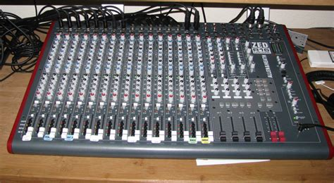 Mixer Allen Heath Zed R16 allen heath zed r16 image 290982 audiofanzine
