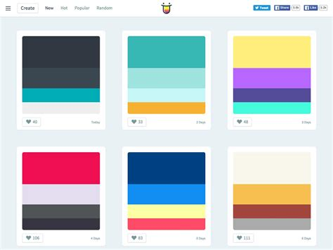perfect color combinations the best of what s new for designers 2015 webdesigner depot