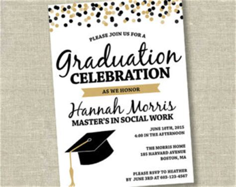 Graduation Invitation Graduation Invitation And Chic Invitations Fitting Aimed At Giving Graduation Invitations 2017 Templates