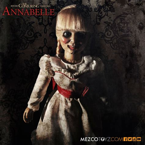 annabell walking doll annabelle doll mezco 02 daily dead