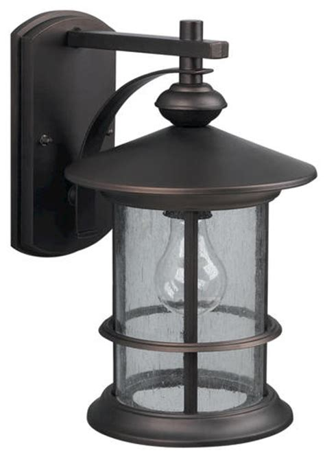 Menards Lighting Outdoor Patriot Lighting 174 Treehouse 1 Light 13 Quot Rubbed Bronze Outdoor Downlight At Menards 174