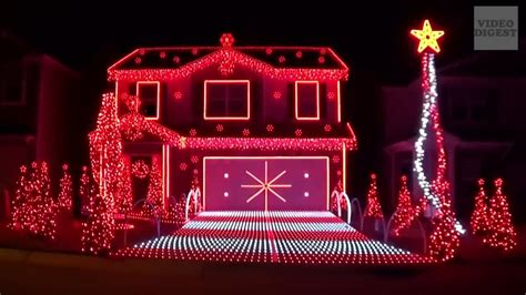 best christmas lights ever the best lights done in tune with digest