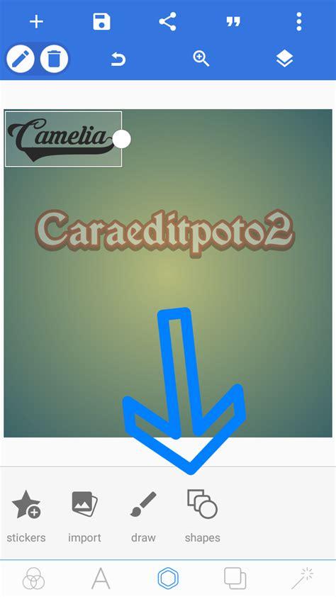 membuat logo dengan android buat logo text 3d di android dengan aplikasi pixellab terbaru