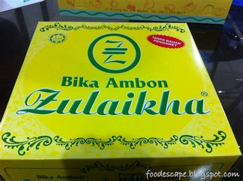 Bika Ambon Meranti medan bolu meranti bika ambon zulaikha food escape