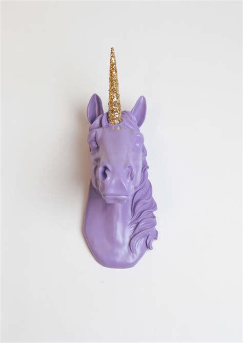 the bayer in lavender w gold glitter staff magical unicorn