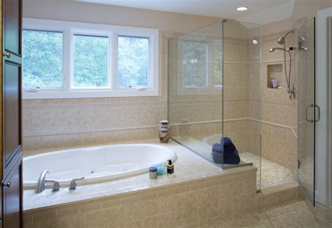 Corner Combo Tub And Shower Ideas Useful Reviews Of Corner Tub Bathroom Ideas