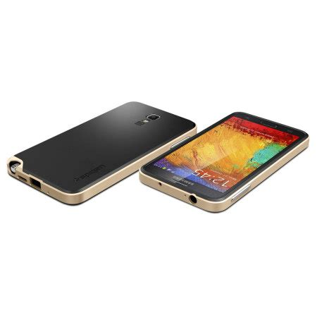Samsung Galaxy Note 3 Neo Casing Glitz Cover Kasing spigen neo hybrid samsung galaxy note 3 neo gold mobilefun india