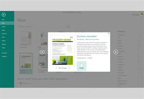 unique ms publisher newsletter templates free word template