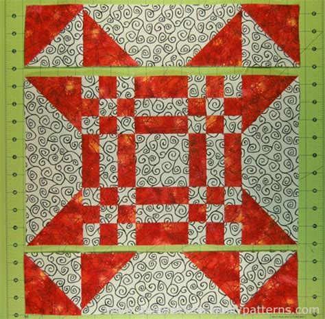 Generation Quilt Patterns by New Mexico Quilt Block Pattern In 3 Sizes