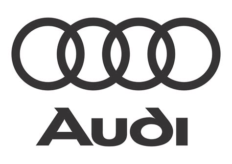 Audi Logo Vector Black White Format Cdr Ai Eps Svg
