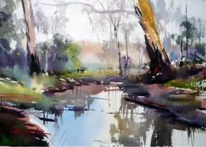 Landscape Artists Watercolor Best 10 Landscape Paintings Ideas On