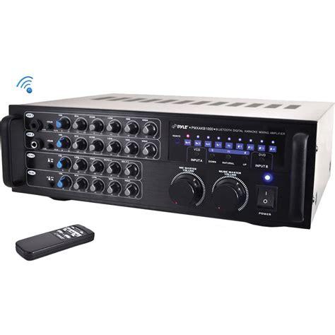 Power Lifier Karaoke pyle pro pmxakb1000 bluetooth karaoke mixer lifier pmxakb1000