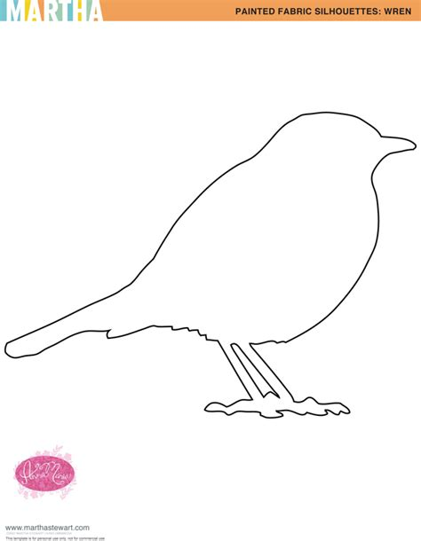 printable bird template 06 january 2011 circlegdesigns