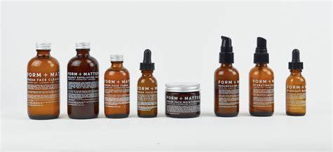 Minimalist Packaging Design for FORM MATTER Skincare