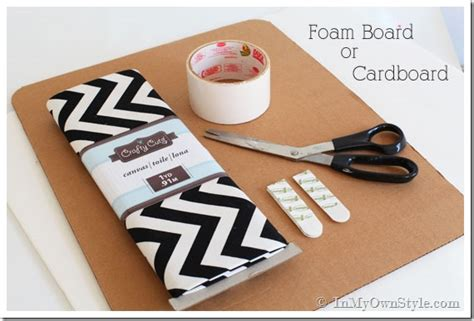 how to make a board one yard decor inset kitchen cabinet memo board and more