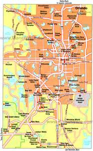 map florida orlando maps update 7001125 orlando florida tourist attractions