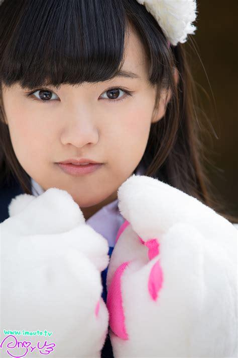 junior idol anjyu kouzuki 香月杏珠 blue uniform junior idol u15 junior