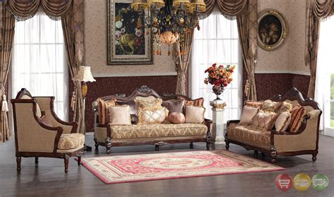 victorian style living room furniture fontaine traditional living room set sofa love seat chair