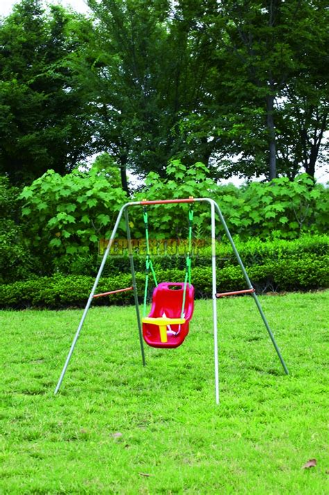 toddler swing frame steel swing frame with toddler swing by peppertown