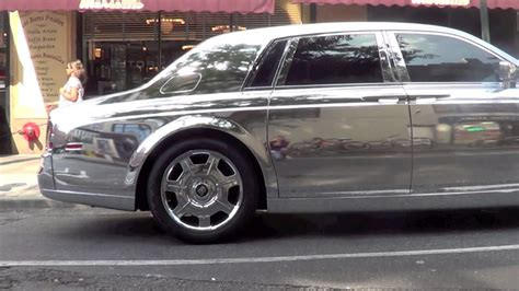 rolls royce chrome chrome rolls royce phantom