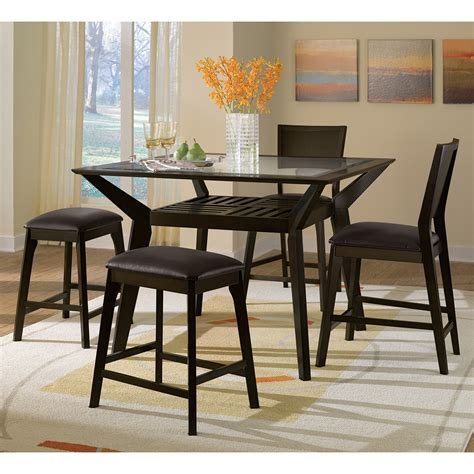 dining room tables counter height american signature furniture mystic dining room counter height table
