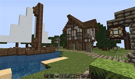 the dock house minecraft dock house minecraft project