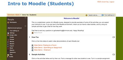 moodle appearance themes change your course theme