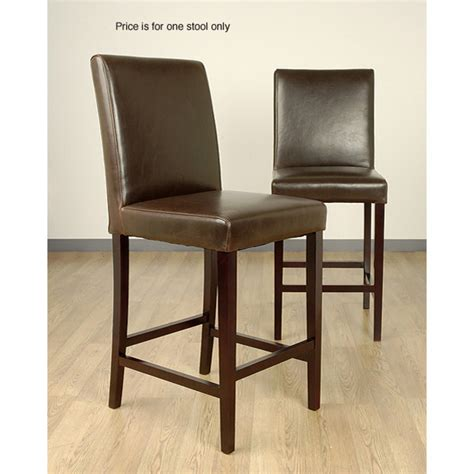 Brown Leather Bar Stools by Andre Brown Leather Bar Stool Design Bookmark 8327