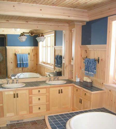 Pine Wainscoting by Knotty Pine V Board And Trims I Elite Trimworks
