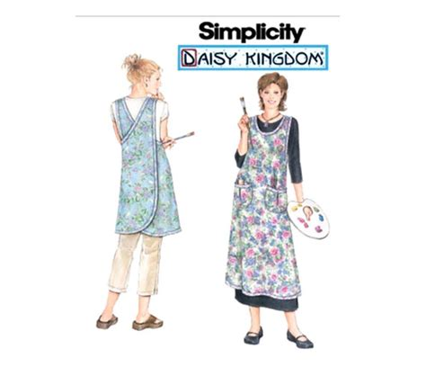 pattern for crossover apron crossover long apron sewing pattern daisy kingdom gardening
