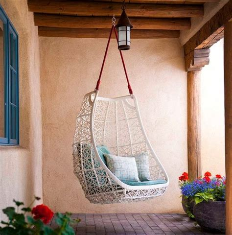 how to hang a swing chair from the ceiling 15 playful versatile and comfy hanging chairs