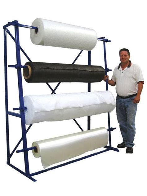 Fabric Rack by Four Roll Fabric Rack Ideal For Vertical Spaces In Stock