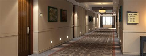 Modern Home Interior by Hotel Corridor