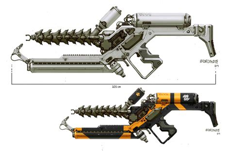 design gun game another excellent and unique design from weta the prawn