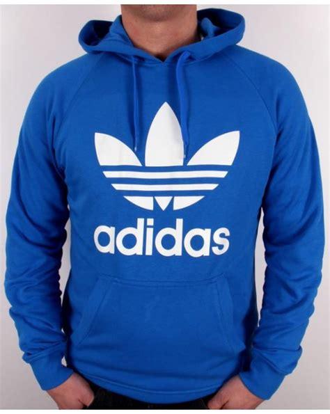 Adidas Trefoil Hoodie adidas originals trefoil hoodie bluebird blue adidas