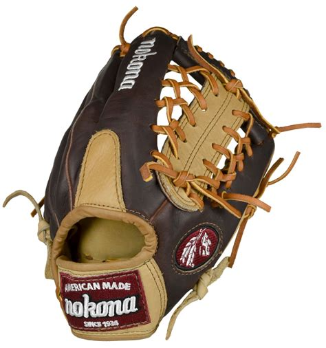 Handmade Baseball Glove - 11 25 inch nokona custom alpha select s200mc youth