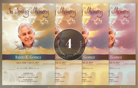 57 Funeral Program Templates Free Word Pdf Psd Doc Sles Free Funeral Program Template Photoshop