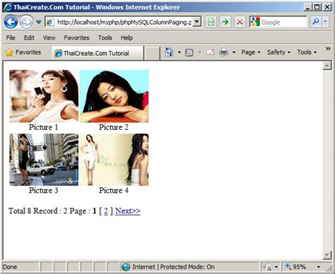 tutorial php pagination php mysql pagination phpsourcecode net