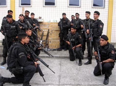 brazil military police uniform bope elite squad