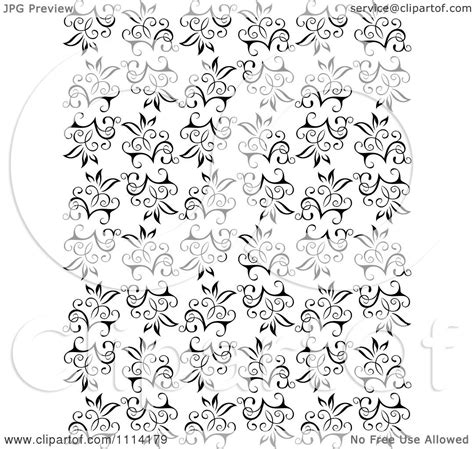 black and white vine pattern clipart seamless black and white floral vine background