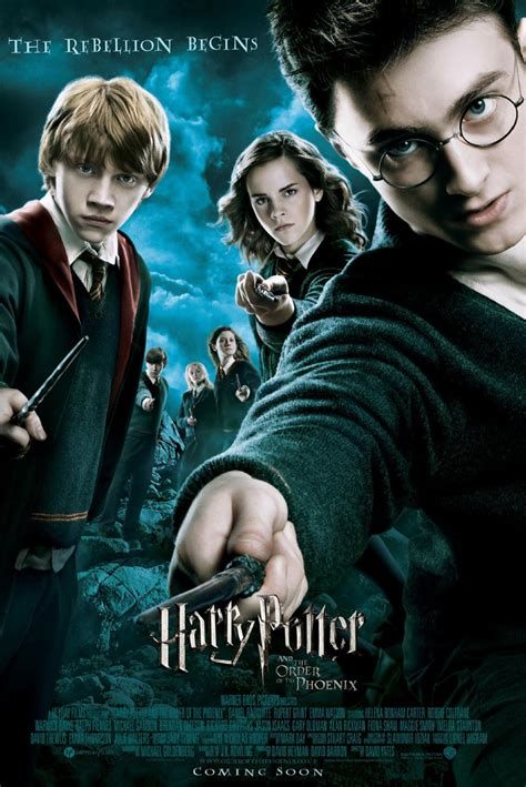 harry potter movies harry potter and the order of the phoenix 2007 poster