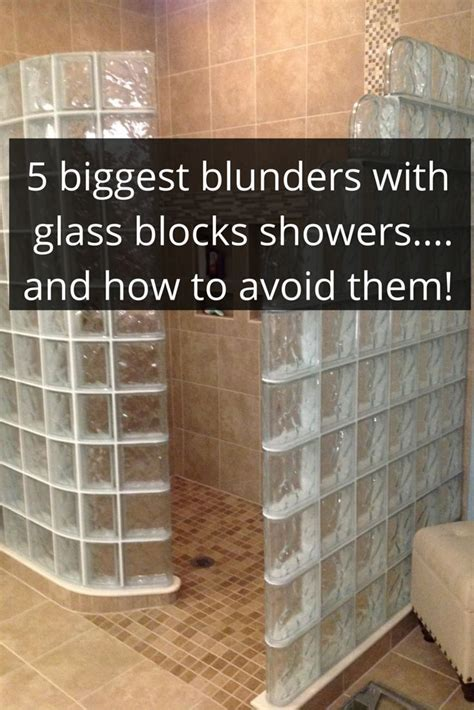 installing glass block windows bathroom 17 mejores im 225 genes sobre glass block showers en pinterest