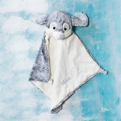 personalised comforter personalised bunny baby comforter by clouds and currents