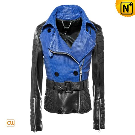 design jacket stitching stitching leather jackets hollow out for women cwmalls