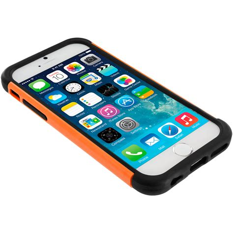 Iphone 7 Plus Nike Yellow Blue Hardcase black orange hybrid rugged armor protector cover for apple iphone 6 6s 4 7