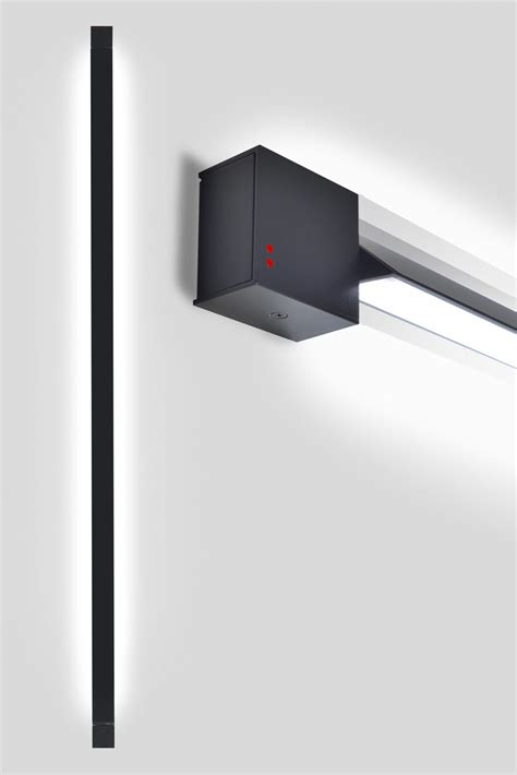 Led Wall L Pivot Led Wall Light L 162 Cm Anthracite By Fabbian