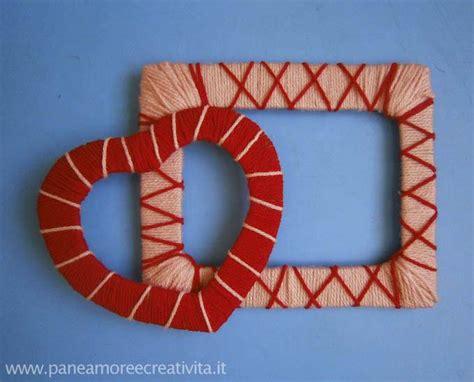 realizzare cornici in cartone lavoretto di san valentino le cornici da creare con il